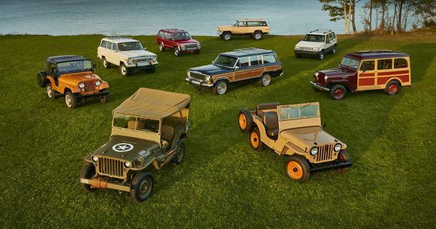 Jeep : 75 ans d'aventures