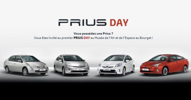 Toyota invite les propriétaires de Prius au Bourget pour le « Prius Day »