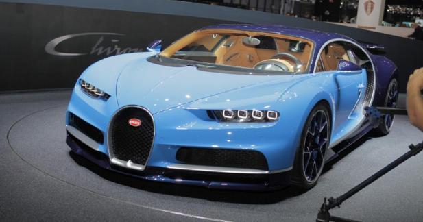 Bugatti Chiron : pour revenir au sommet