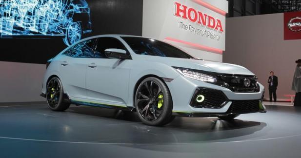 Honda Civic Prototype : vers plus de sportivité