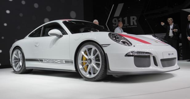 Porsche 911 R : radicale et rétro