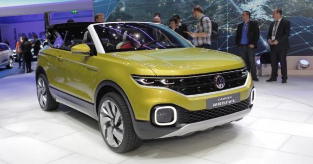 Volkswagen T-Cross Breeze : bientôt un SUV cabriolet à Wolfsbourg ?
