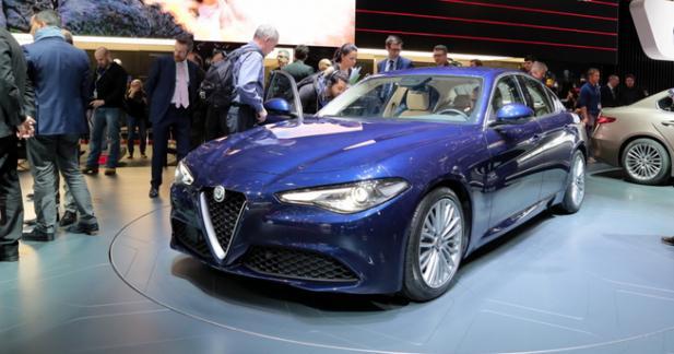 Alfa Giulia : toute la gamme se dévoile à Genève