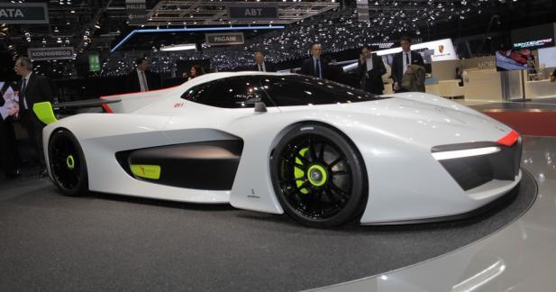 Pininfarina H2 Speed : quand l'hydrogène sert le sport
