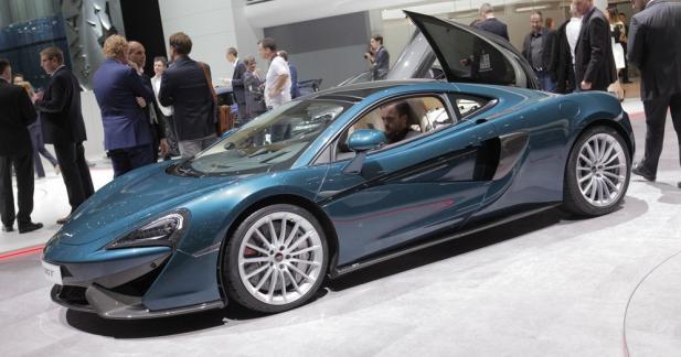McLaren 570GT : option bagages supplémentaires incluse