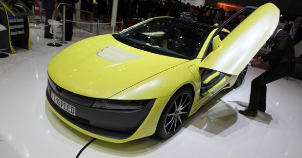 Rinspeed Etos : quand voiture autonome et sportivité s'assemblent