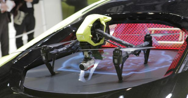 Ayez un œil dans les airs grâce au drone embarqué
