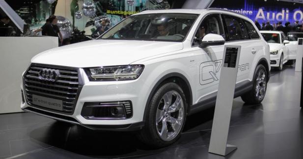 Audi Q7 e-tron : la commercialisation est lancée