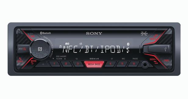 Un nouvel autoradio dédié aux sources nomades chez Sony
