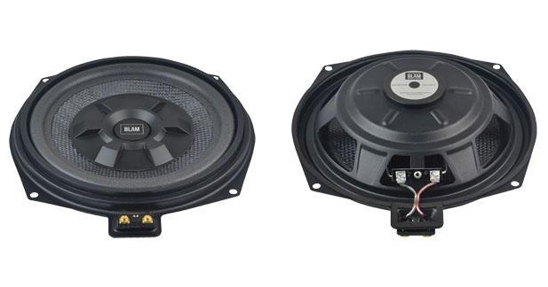 Un subwoofer compatible avec toutes les BMW chez Blam Audio