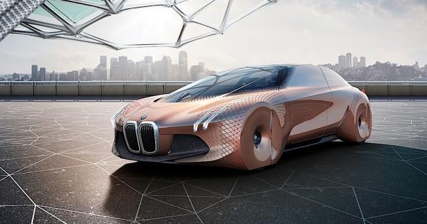 BMW Vision Next 100 : l'auto du siècle prochain