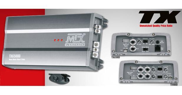 Les nouveaux amplis MTX TX arrivent en France