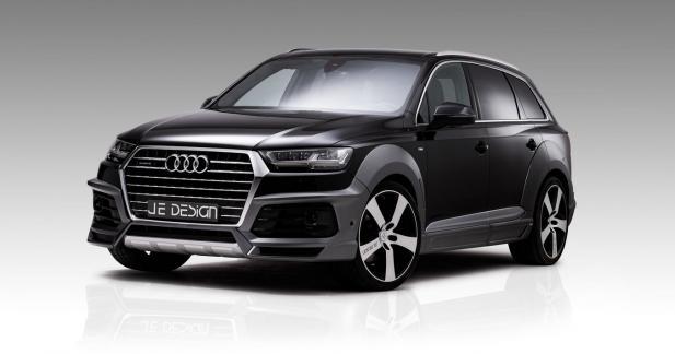 Audi SQ7 JE Design : 522 ch et un physique encore plus musclé