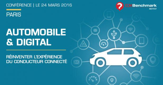 Conférence CCM Benchmark le 24 mars 2016 : Automobile & Digital
