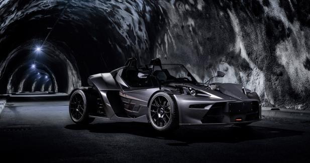 KTM X-Bow GT Black Edition : tout en carbone