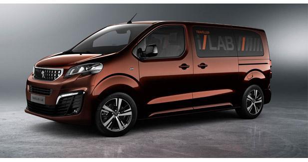 Focal équipe le concept car Peugeot Traveller I-LAB