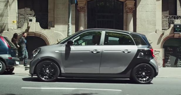 En Smart Forfour, n'oubliez pas les passagers arrière !