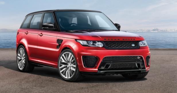 Le Range Rover Sport SVR s'apprête à devenir encore plus puissant