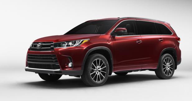 Toyota restyle son Highlander