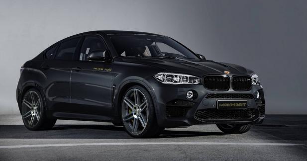 Manhart pousse le BMW X6 M à 700 ch