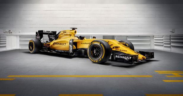 Voici la F1 de Renault pour 2016