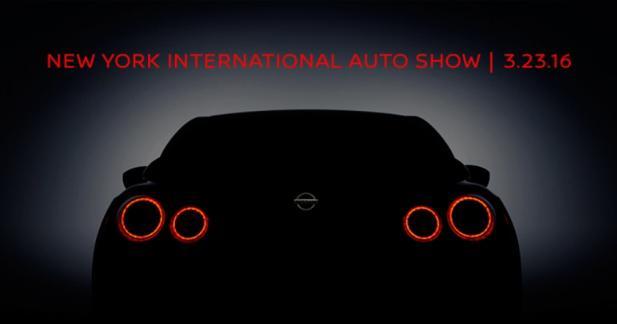 La Nissan GT-R nous réserve une surprise pour le salon de New York