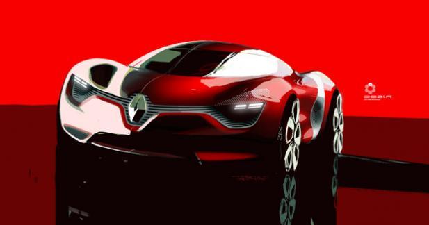 Renault dévoilera un concept sportif au Mondial de l'Automobile