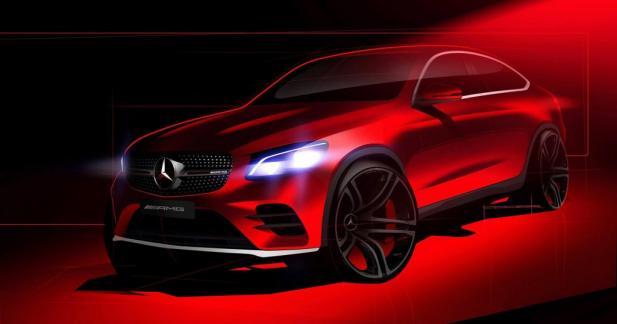 Mercedes GLC Coupé : un dernier teaser pour la route
