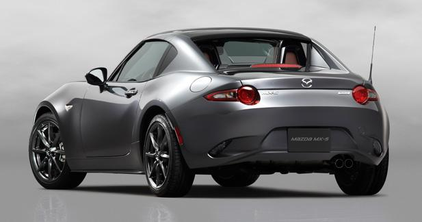 Mazda MX-5 RF: coup de coeur ?