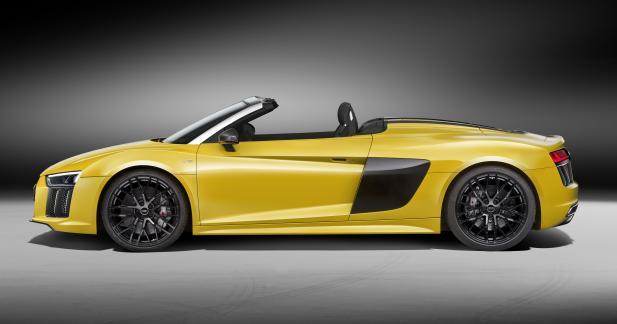 Audi R8 V10 Spyder: rigidité accrue