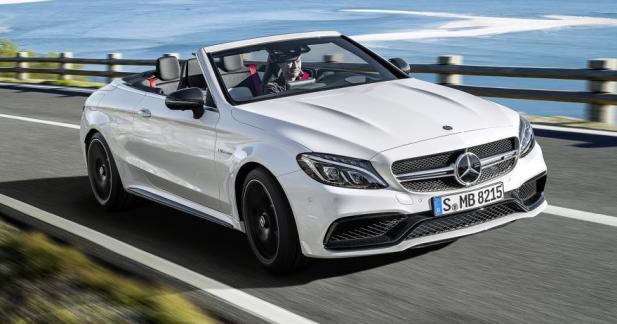 Mercedes-AMG C 63 Cabriolet : le son du V8 4.0 biturbo en prise directe