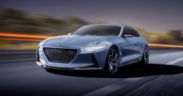 Genesis dévoile son concept anti-BMW Série 3