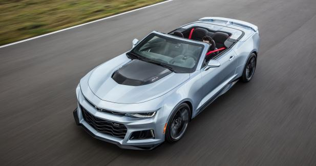 Chevrolet Camaro ZL1 Cabriolet : brushing express
