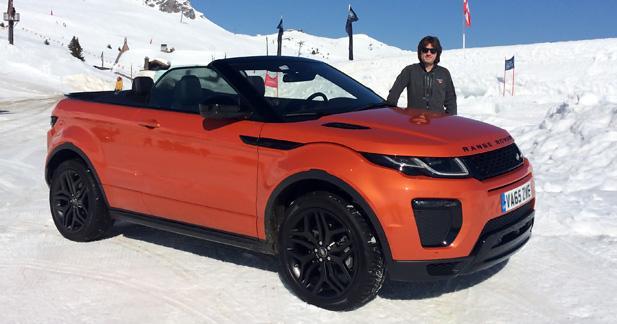 Essai Land Rover Range Rover Evoque Cabriolet