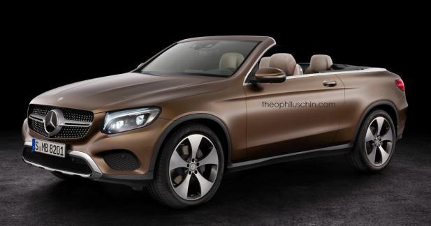 Le Mercedes GLC Cabriolet pourrait devenir une réalité