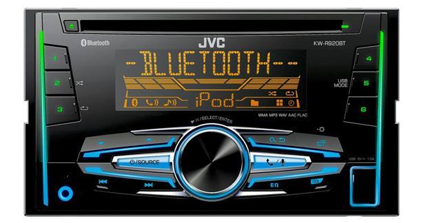 JVC dévoile sa gamme d'autoradios 2016