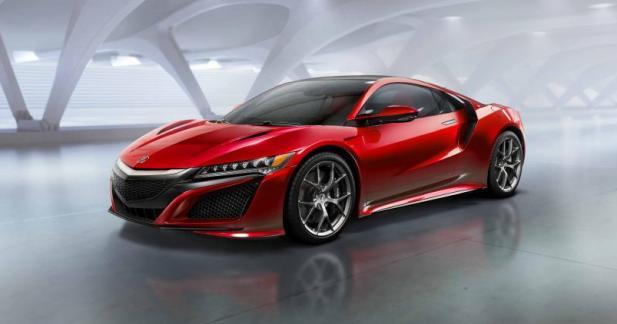 Honda NSX : à partir de 181 500 euros en France