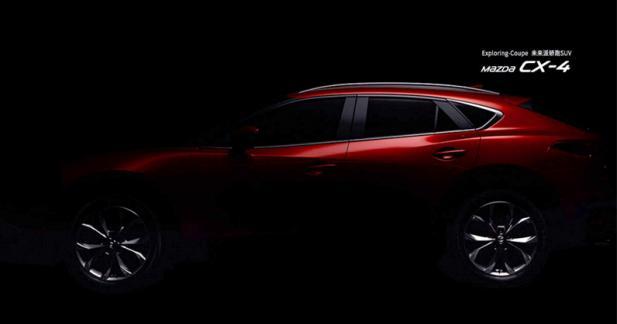 Le Mazda CX-4 continue son effeuillage