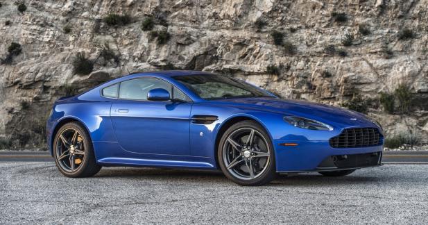 Aston Martin V8 Vantage GTS : uniquement pour l'Oncle Sam