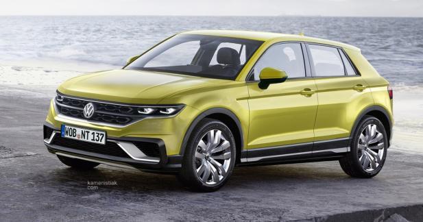 Un aperçu réaliste pour le crossover Volkswagen sur base de Polo