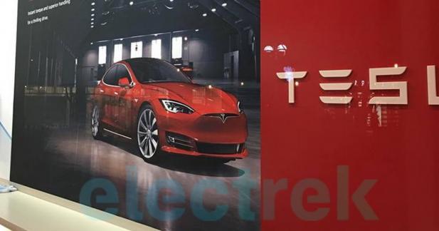 Serait-ce la Tesla Model S restylée ?