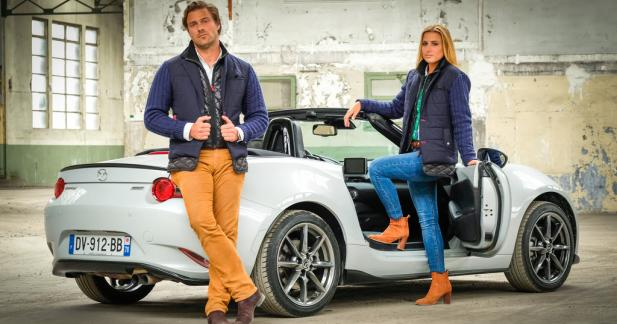 Mazda MX-5 by Vicomte A. : la veste indispensable pour les dandy drivers