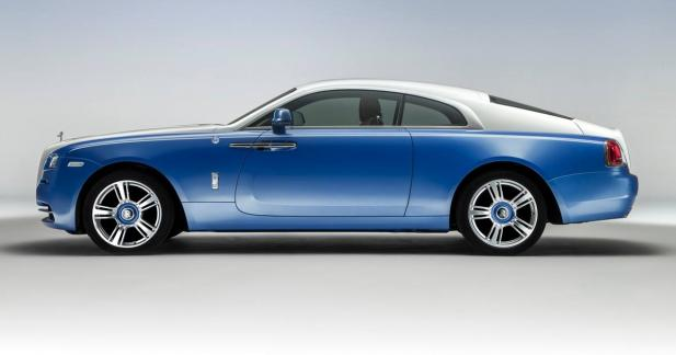 La Rolls-Royce Wraith devient bateau grâce à une version Nautical