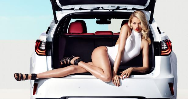Hailey Clauson et le Lexus RX : maintenant, les photos !
