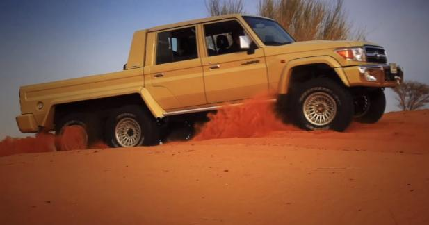 Transformez votre Toyota Land Cruiser en 6x6
