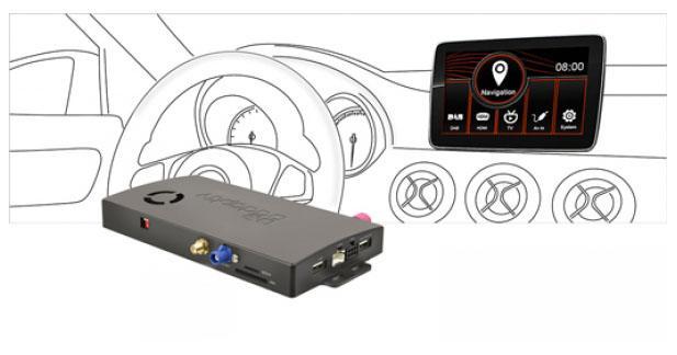 Avec Adaptiv, ajoutez des fonctions multimédia à l'autoradio de la Mercedes Classe A