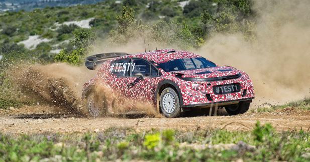 La future Citroën C3 se dévoile dans sa version WRC