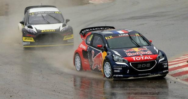 Sébastien Loeb empoche de gros points pour ses débuts en rallycross