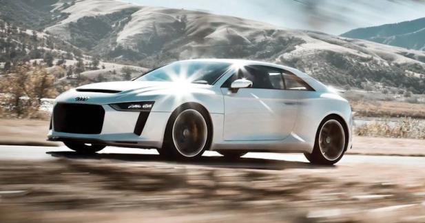 Audi : bientôt un coupé entre le TT et la R8 ?