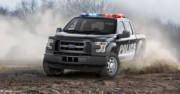 Le nouveau Ford F-150 s'engage dans la police